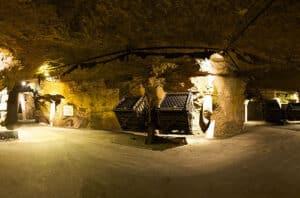 Visite de caves exceptionnelle à Saumur